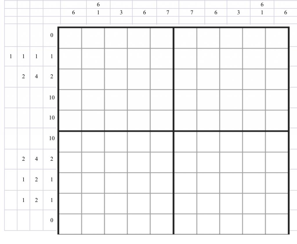 10x10 Nonogram